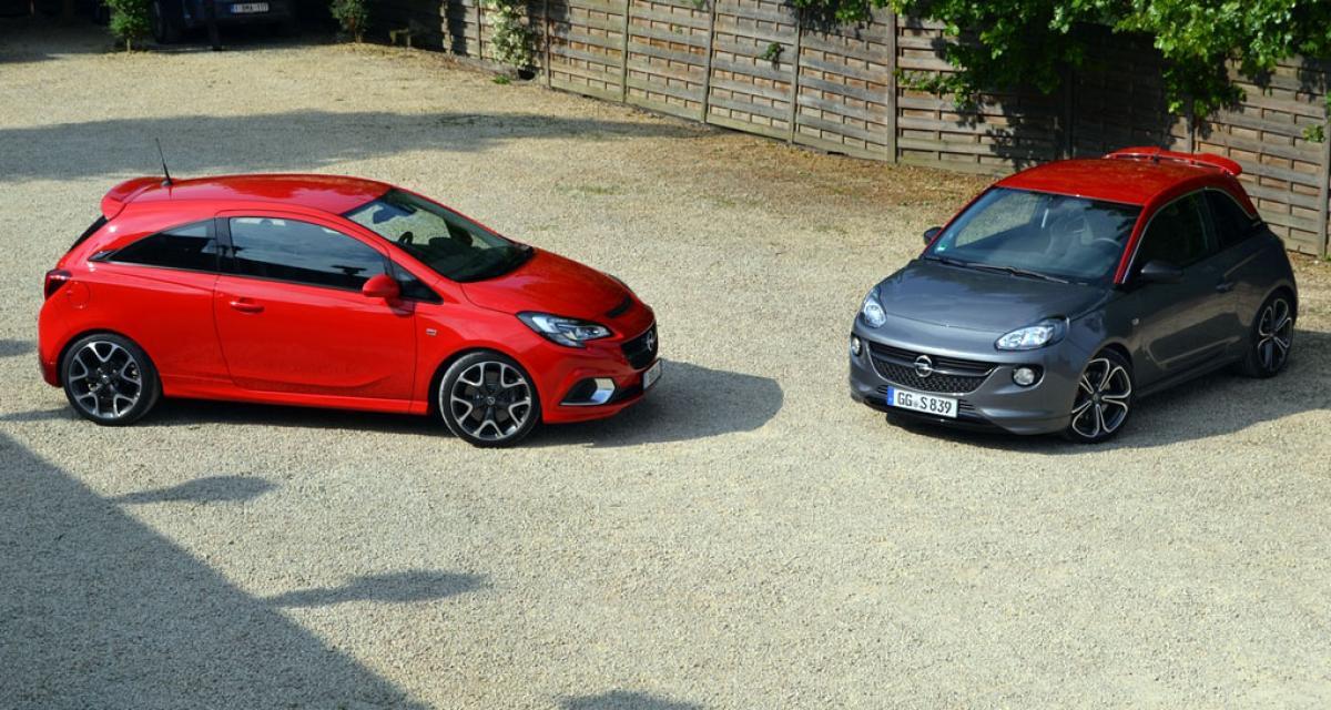 Opel Adam et Corsa : un frein à main potentiellement défectueux