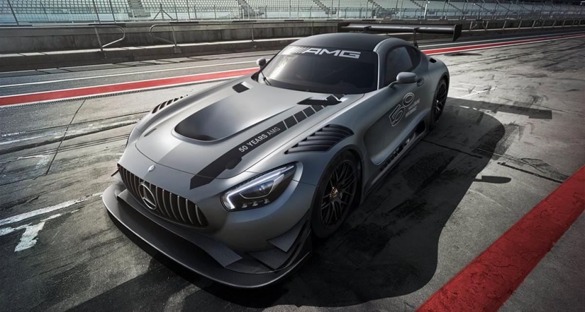Mercedes-AMG GT3 Edition 50 : le demi-siècle fêté en grande pompe