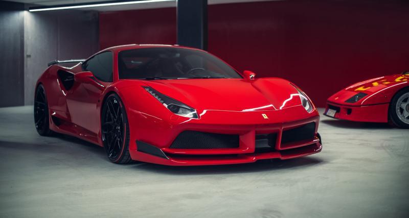 Novitec Rosso greffe un kit large à la Ferrari 488 GTB