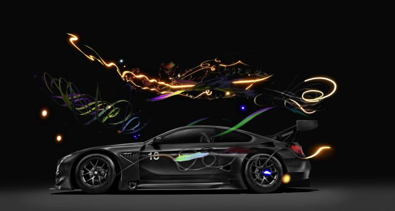 BMW crée une Art Car ''invisible'' à l'oeil nu