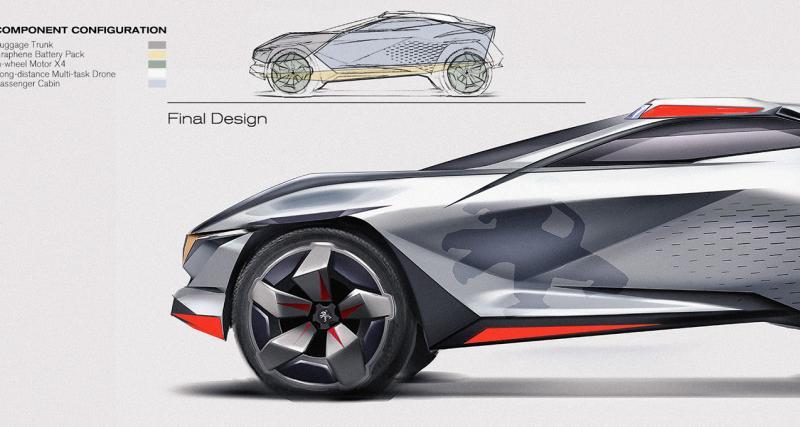 Peugeot Passio : le crossover du futur avec une terrasse à l'arrière