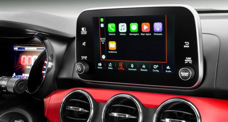 La Fiat Argo possèdera une station multimédia avec connectivité Smartphones