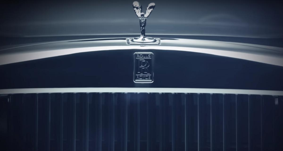 La nouvelle Rolls-Royce Phantom sera présentée cet été