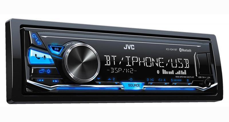 JVC présente un autoradio numérique à un prix très attractif