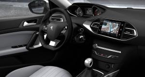 Pour 2018, la Peugeot 308 sera équipée du CarPlay et d'Android Auto