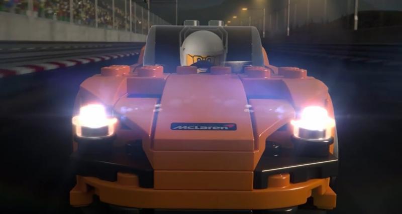 La McLaren 720S fait sa pub en Lego