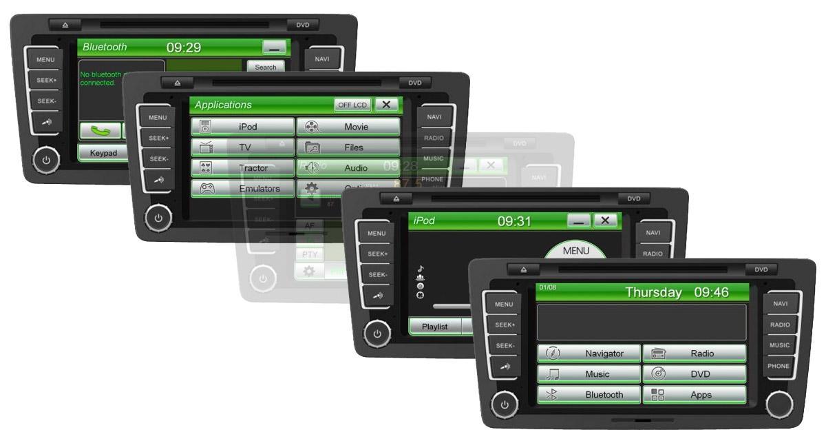 Un autoradio GPS « plug and play » pour la Skoda Octavia 3 chez ESX