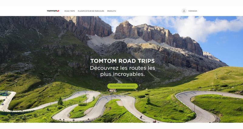 Partez à la découverte de plus belles routes cet été avec Tomtom RoadTrips