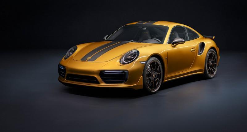Porsche 911 Turbo S Exclusive Series : la plus puissante 911 Turbo jamais produite
