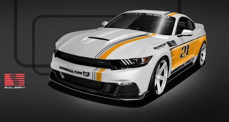 Deux Ford Mustang très radicales débarquent chez Saleen