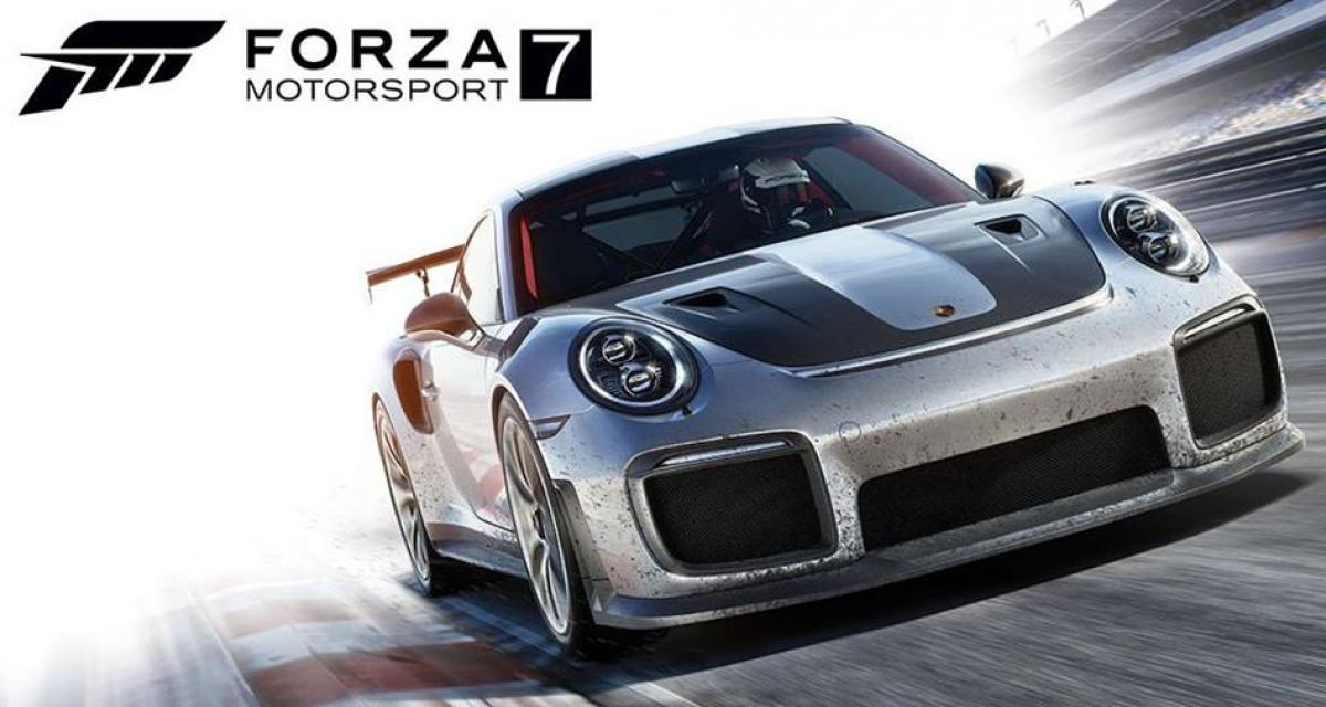 La Porsche 911 GT2 RS se montre à travers Forza Motorsport 7