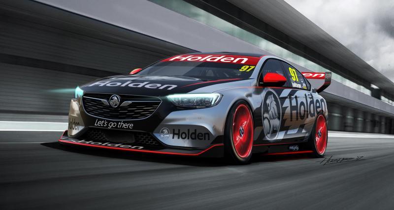 La nouvelle Opel Insignia deviendra une voiture de course en Australie