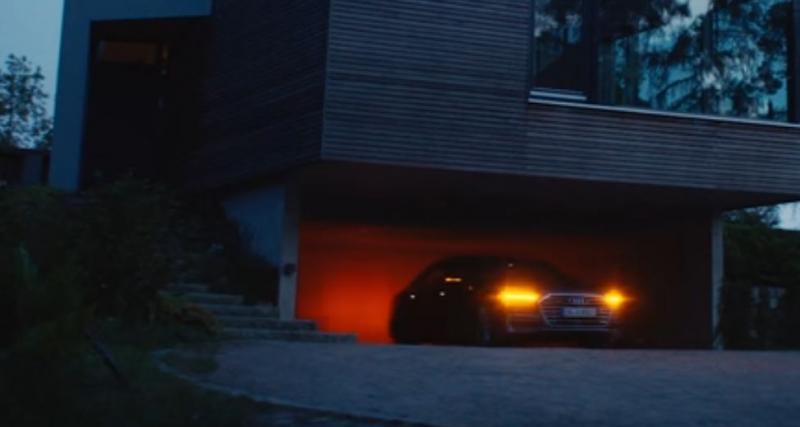 Un aperçu de la future Audi A8 et son stationnement à distance