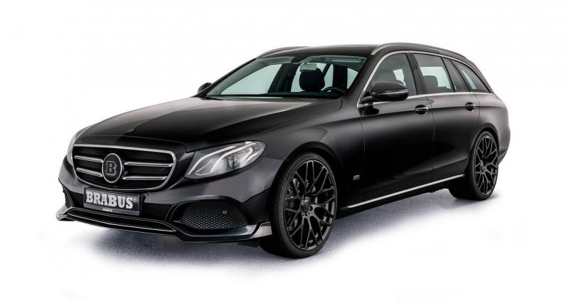 La Mercedes Classe E Estate gagne en coffre grâce à Brabus