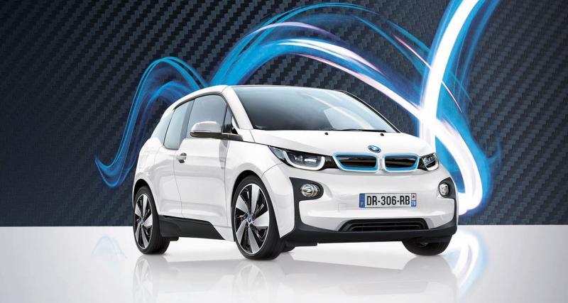 La BMW i3 à partir de 330 euros par mois