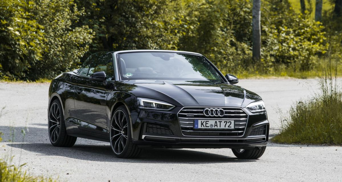 ABT s'attaque à l'Audi A5 Cabriolet