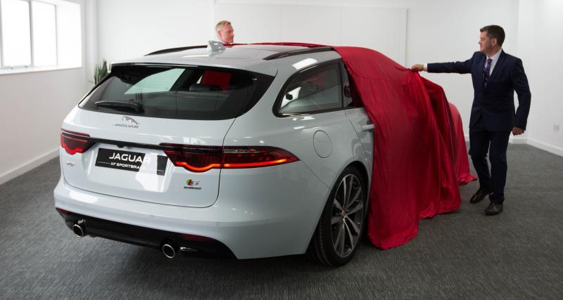 Présentation Jaguar XF Sportbrake 2017: l'alternative aux allemandes