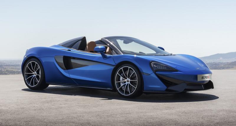 La McLaren 570S reçoit sa version Spider