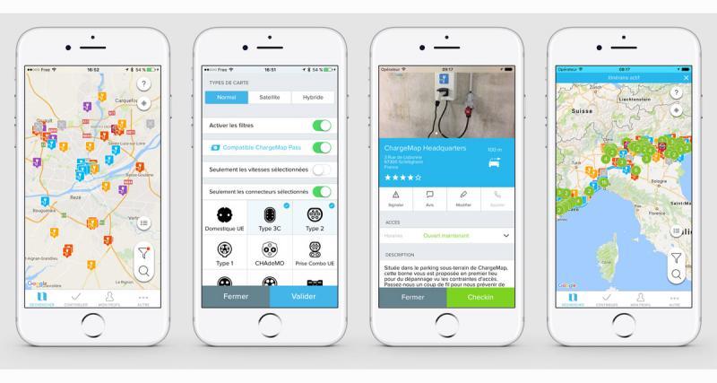 ChargeMap présente un nouveau service pour les voitures électriques