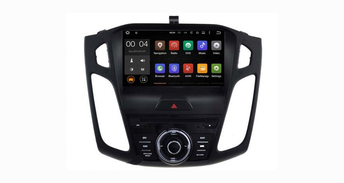Un autoradio Android « plug and play » pour les Ford Focus 2015