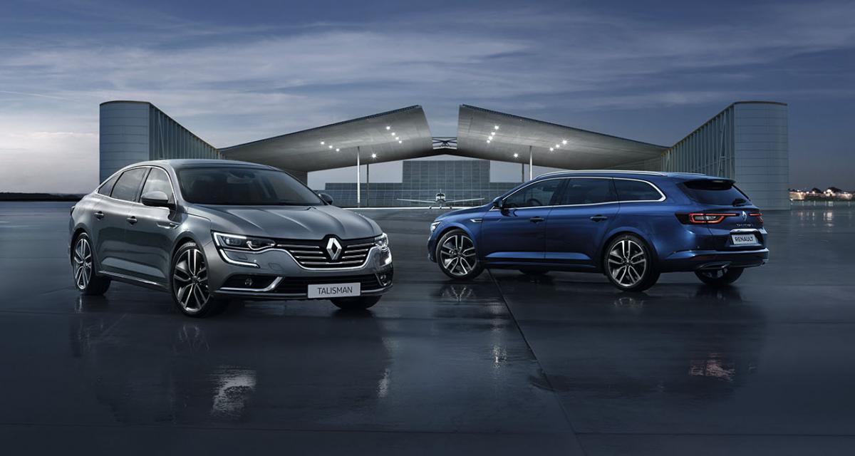 Double rappel pour la Renault Talisman
