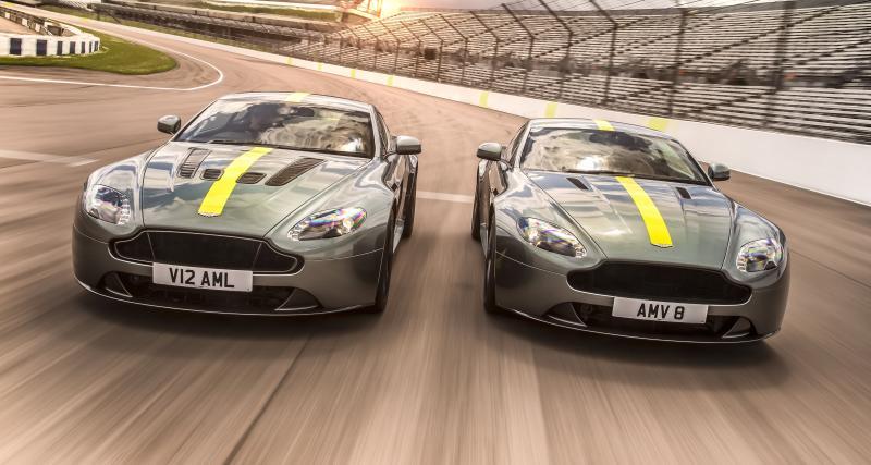 Aston Martin Vantage AMR : pour une fin de carrière en beauté
