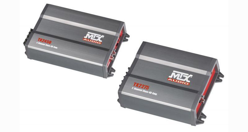 MTX enrichit sa gamme d'amplificateurs avec les nouveaux modèles TX2