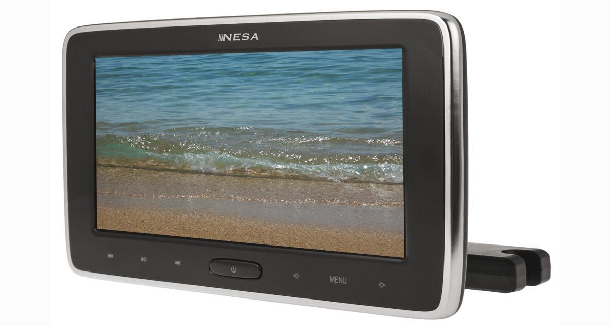 Nesa Vision dévoile un nouvel écran vidéo pour les voitures à appuie-tête actifs