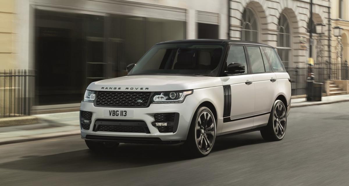 Un kit maison signé SVO pour le Range Rover