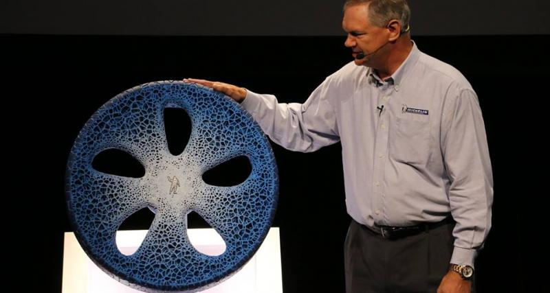 Michelin : un pneu du futur grâce à l'impression 3D