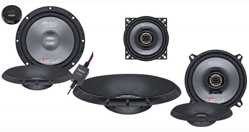 Mac Audio propose une gamme de haut-parleurs extra plats pour les emplacements d'origine
