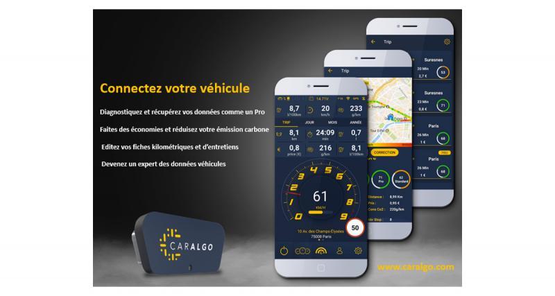 Smarto lance CarAlgo, une solution de voitures connectées compatible avec de nombreux véhicules