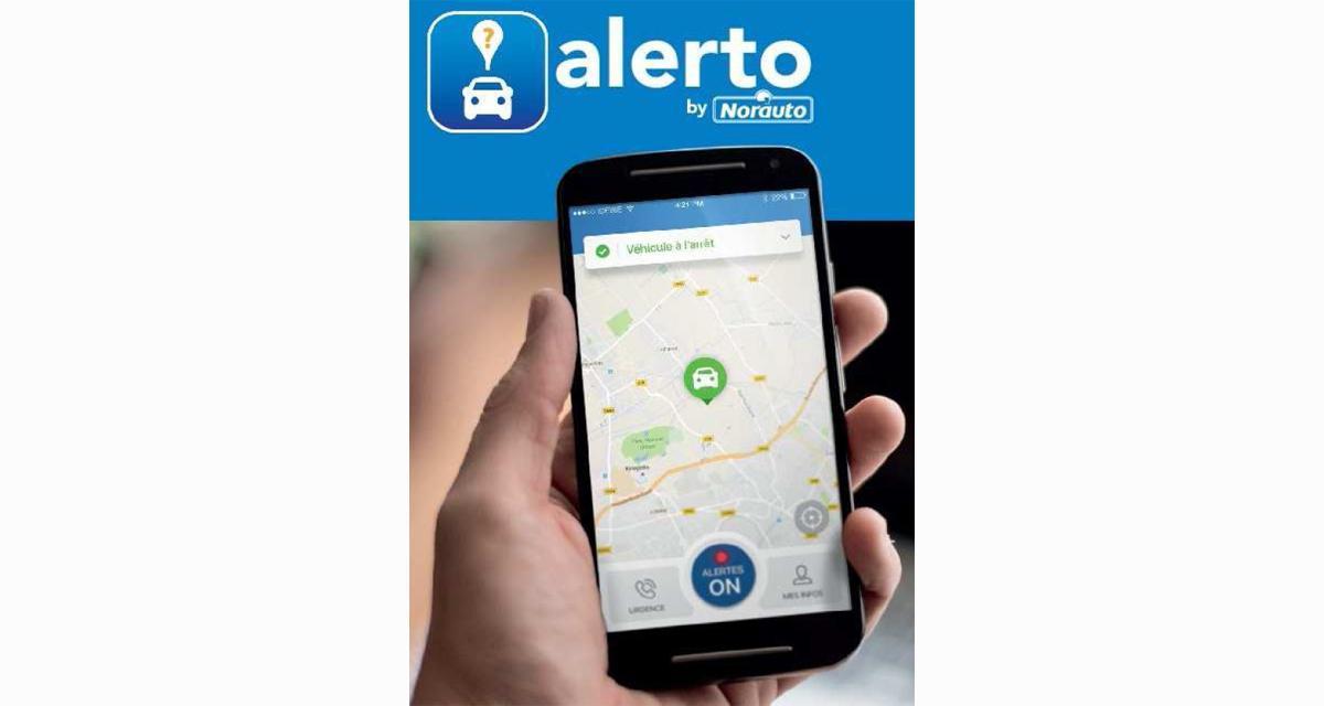 Norauto Alerto : une solution connectée très abordable pour géolocaliser sa voiture
