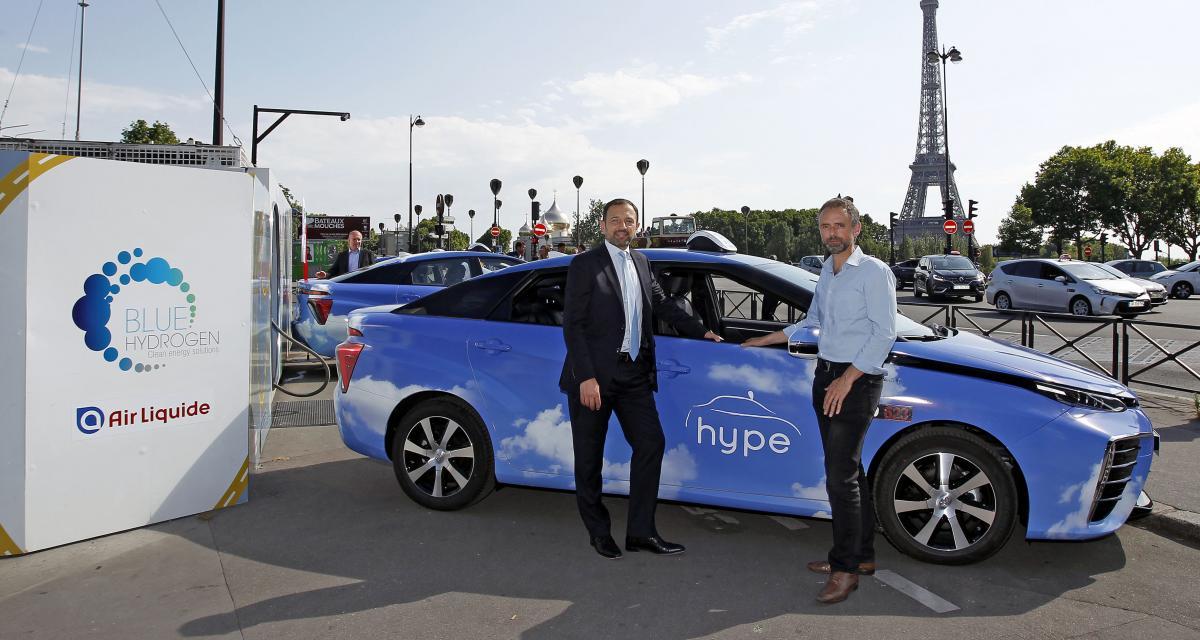 Votre prochain taxi à Paris sera peut-être une Toyota Mirai à hydrogène