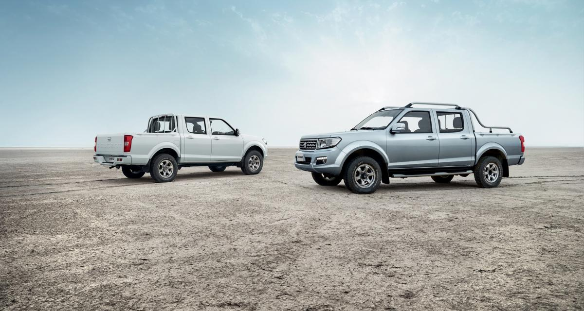 Peugeot présente son pick-up… nommé Pick Up