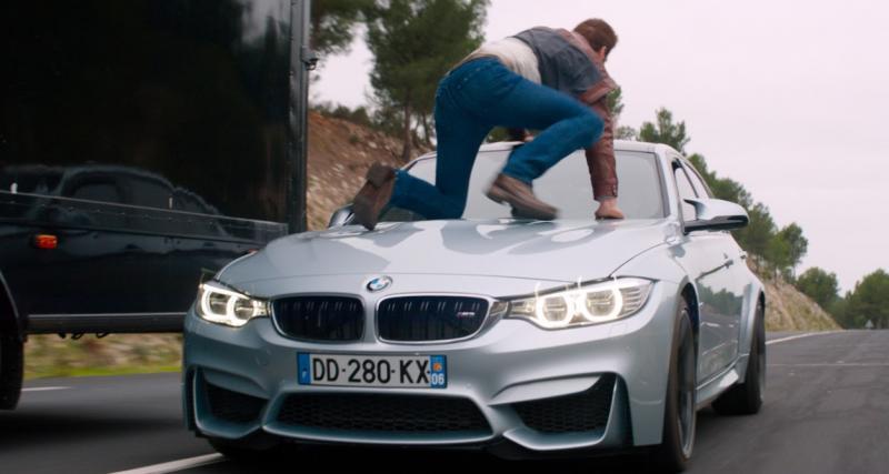 Le plein de BMW à l'affiche d'un film français