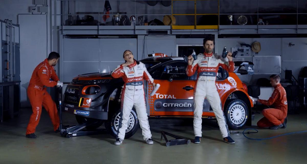 Citroën Racing se lance dans la musique grâce à la C3 WRC