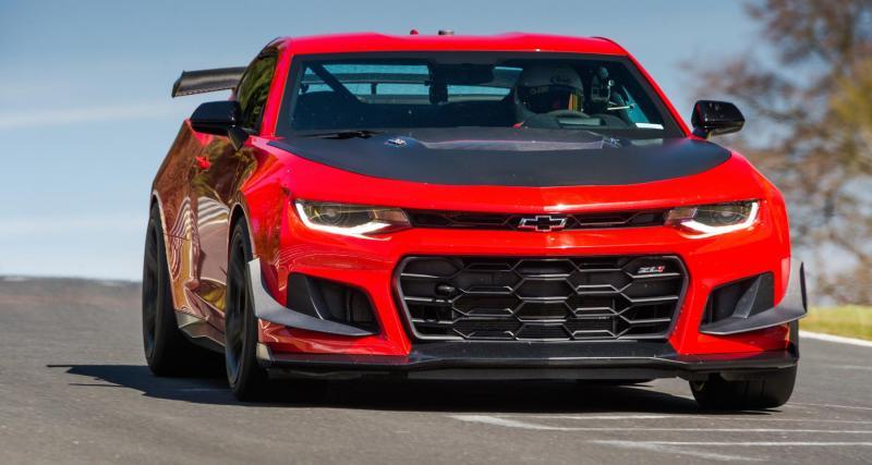 La Chevrolet Camaro ZL1 1LE devient la plus rapide des muscle cars sur le Nürburgring