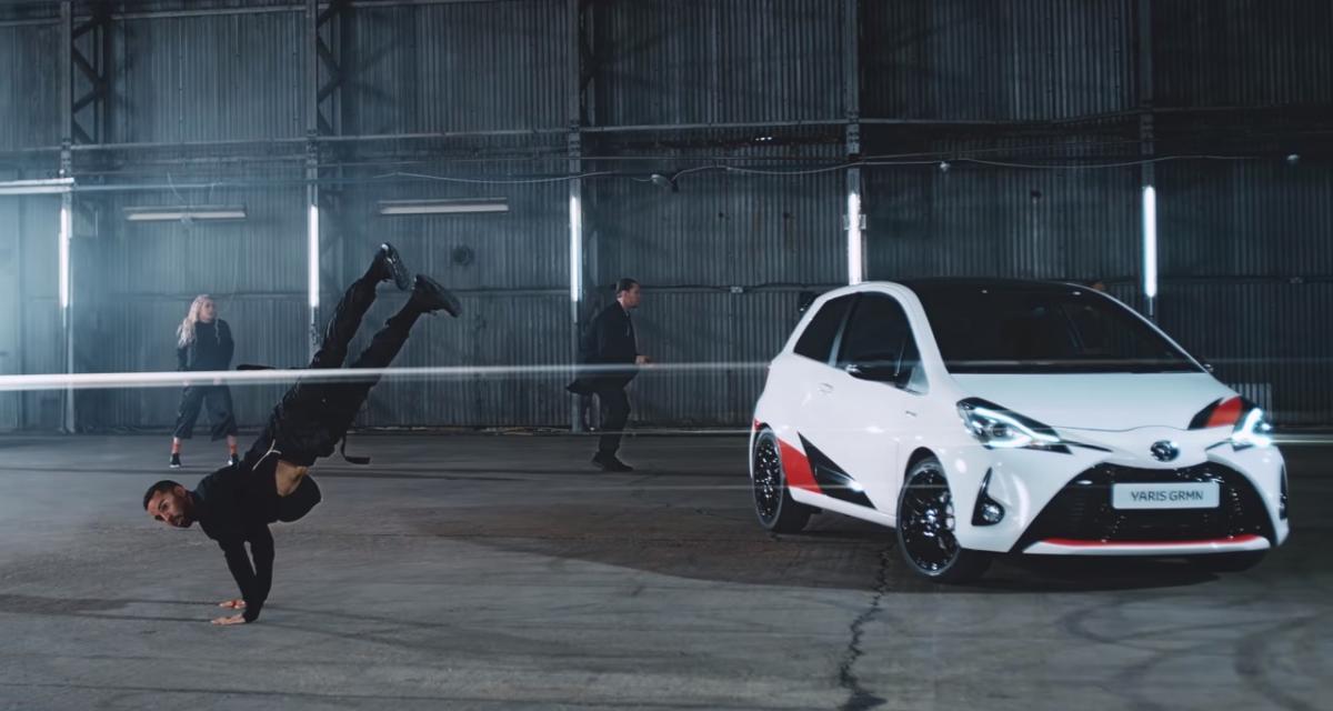 La Toyota Yaris GRMN nous montre ses talents de danseuse
