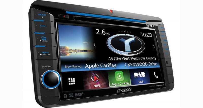 Kenwood présente un nouvel autoradio GPS spécial VW avec CarPlay et DAB