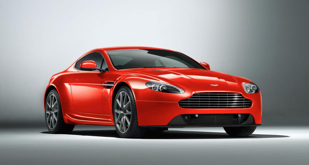 Aston Martin Vantage : une mauvaise calibration de l'embrayage entraîne un rappel