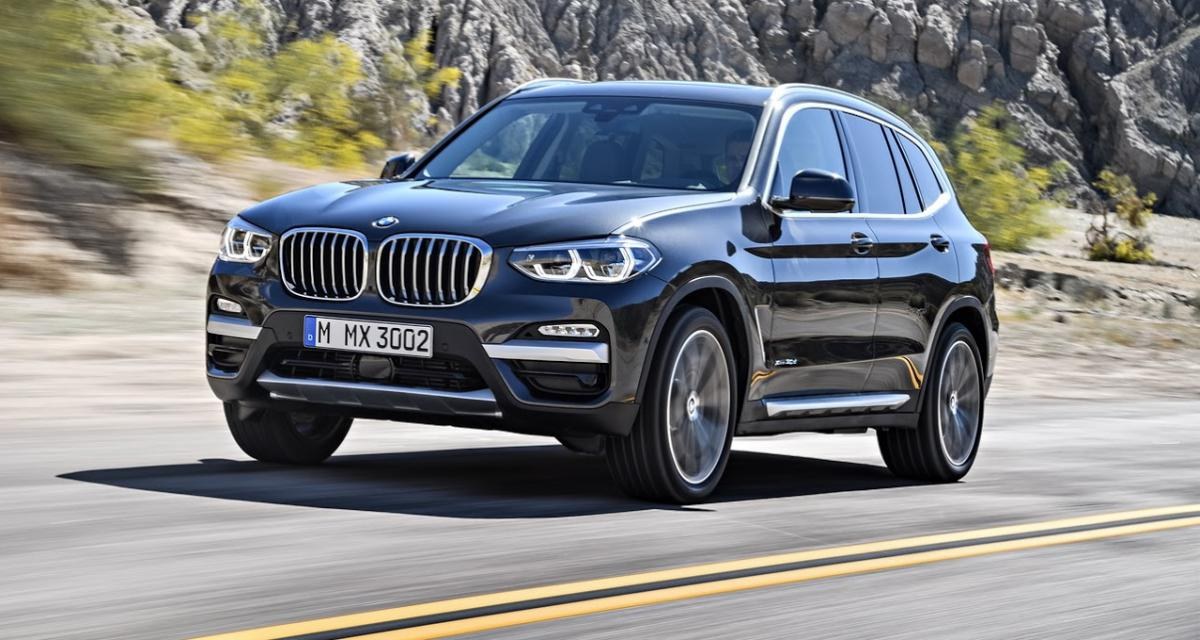 nouveau bmw x3 une version sportive m40i au catalogue. Black Bedroom Furniture Sets. Home Design Ideas