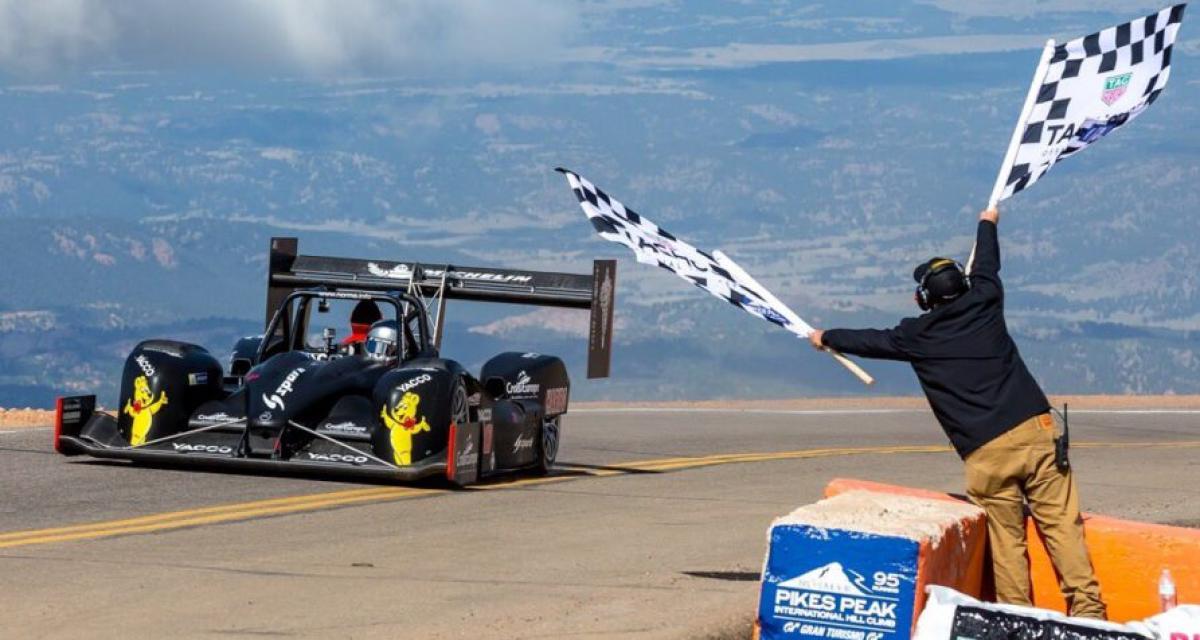 Pikes Peak : une victoire en demi-teinte pour le Français Romain Dumas