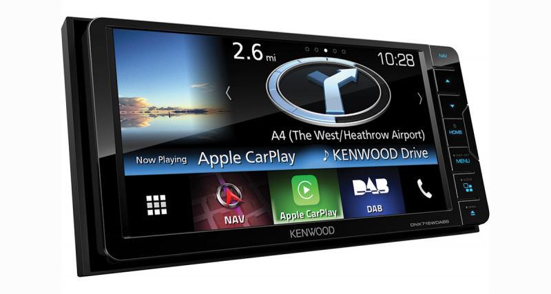 Un autoradio GPS très haut de gamme pour les Toyota chez Kenwood Electronics