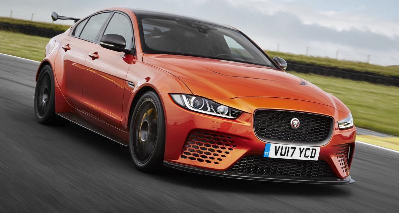 Jaguar XE SV Project 8 : 600 ch, 4RM et près de 170 000 euros