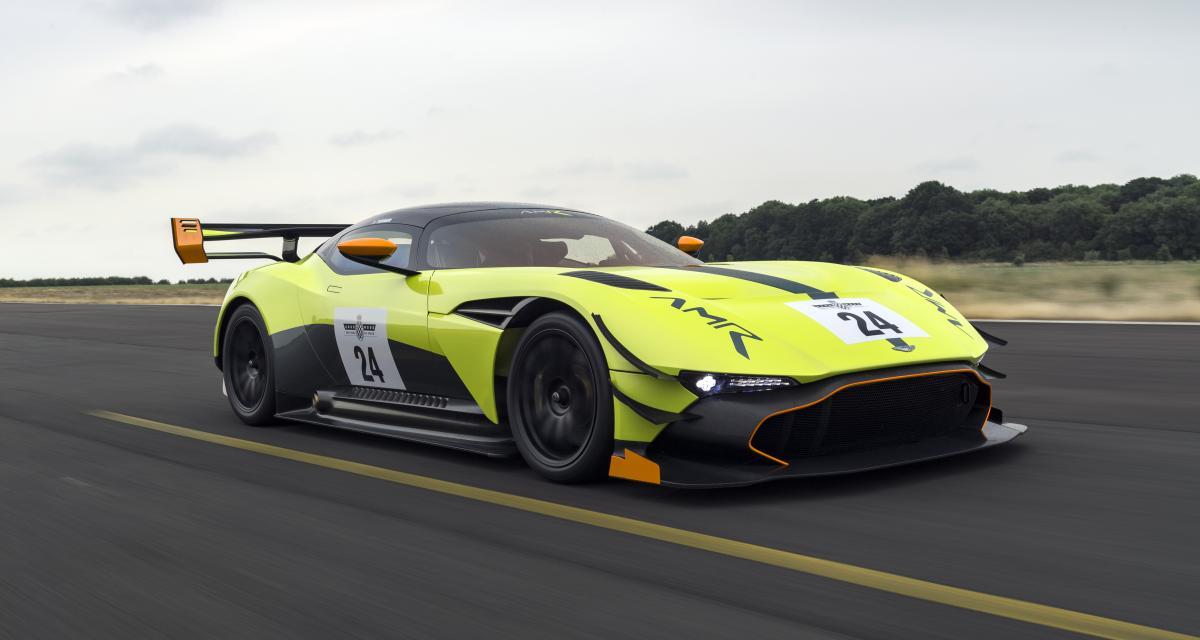 Aston Martin Vulcan AMR Pro : encore plus effusive