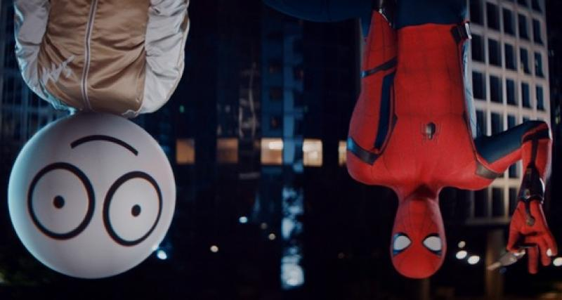 Sam et Spider-Man unissent leurs forces pour lutter contre l'alcool au volant