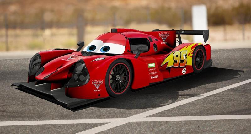 Les voitures du film Cars 3 vont faire la course pour de vrai