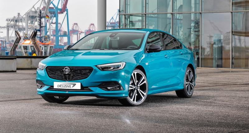 L'Opel Insignia joue au premium avec le programme ''Exclusive''