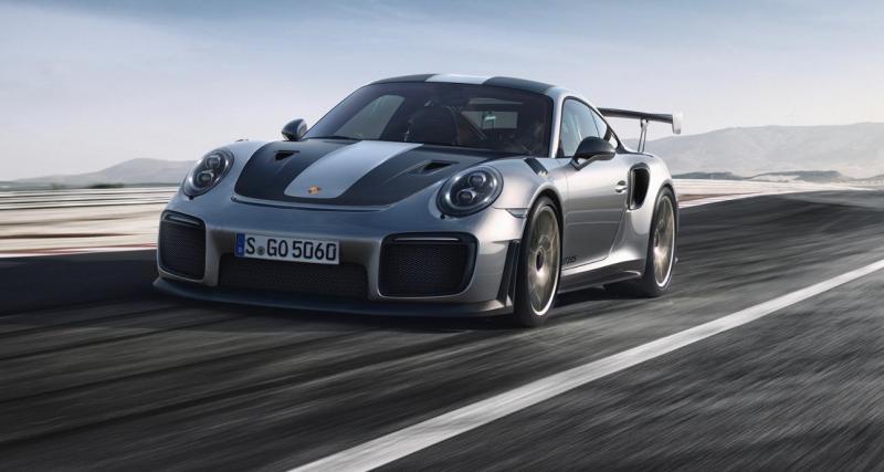 Porsche 911 GT2 RS : enfin les photos et les chiffres officiels